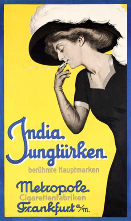 India Jungtürken – Alemania (1908)