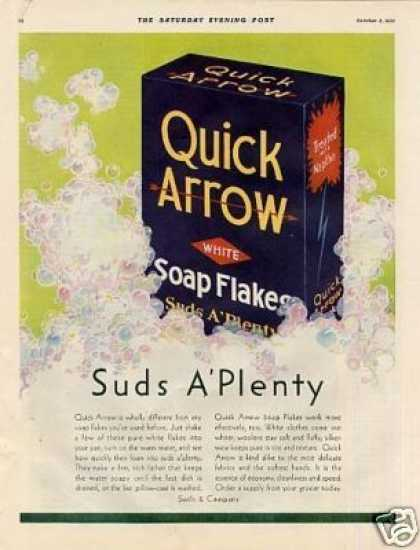 Quick Arrow Soap Detergent (1931)