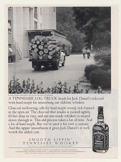 Tennessee Log Truck Jack Daniel's Whiskey (1999)