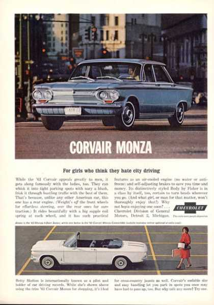 Chevy Corvair Monza Convertible Coupe (1963)