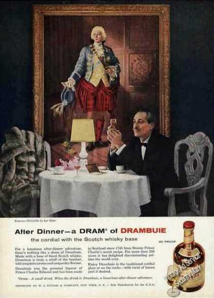 Drambuie Cordial Empress Chinchilla (1957)