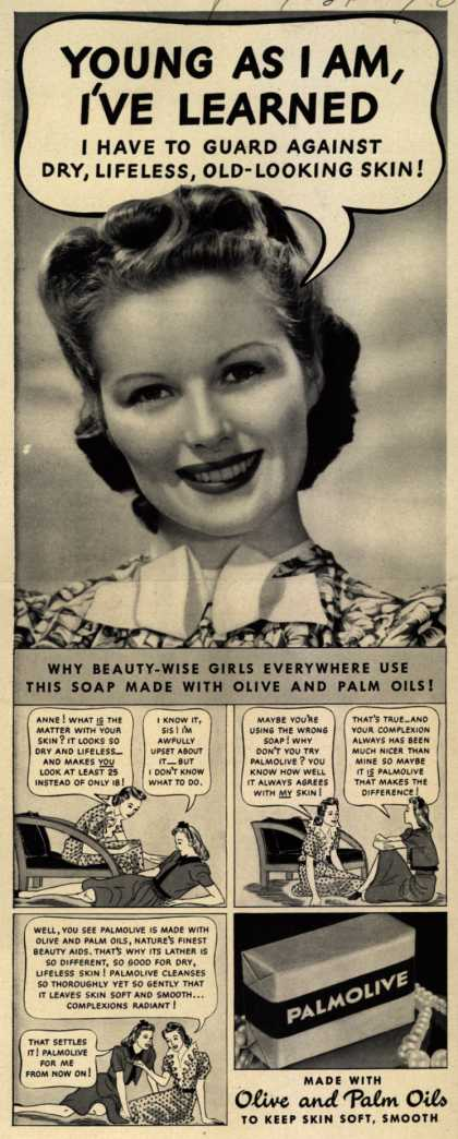 Palmolive Company's Palmolive Soap – Young As I Am, I've Learned (1940)