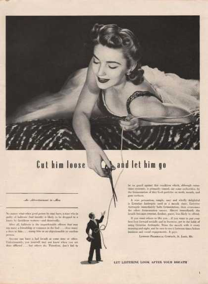 Listerine Look After Your Breath (1941)