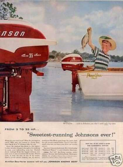 Johnson Sea-horse Outboard Motor (1957)