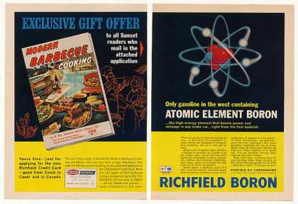 Richfield Atomic Element Boron Gasoline (1966)
