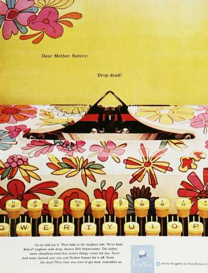Kotex Typewriter