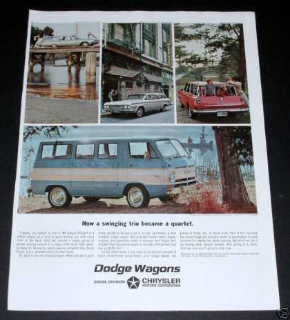 Dodge Wagons and Vans (1964)