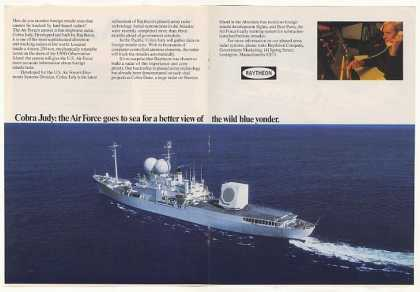 '82 Raytheon Cobra Judy USNS Observation Island Ship (1982)
