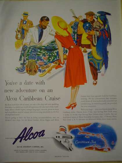 Alcoa Steamship Co Caribbean Cruise AND Zenith Radio Holiday (1947)