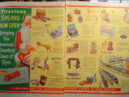 Firestone Christmas Toyland 2 pg (1952)