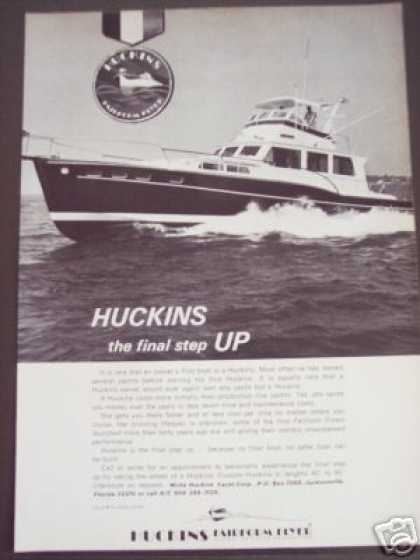 Huckins Fairform Flyer Yacht Boat Photo (1972)
