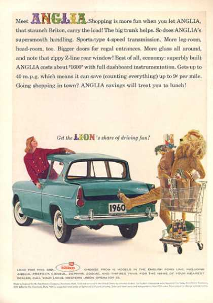 English Ford Built Anglia (1960)