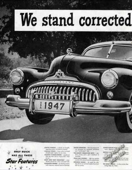"Buick ""Corrected By a Lady"" Large Car (1947)"