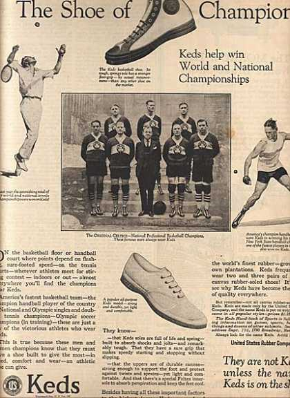 Ked's Athletic Shoes (1925)