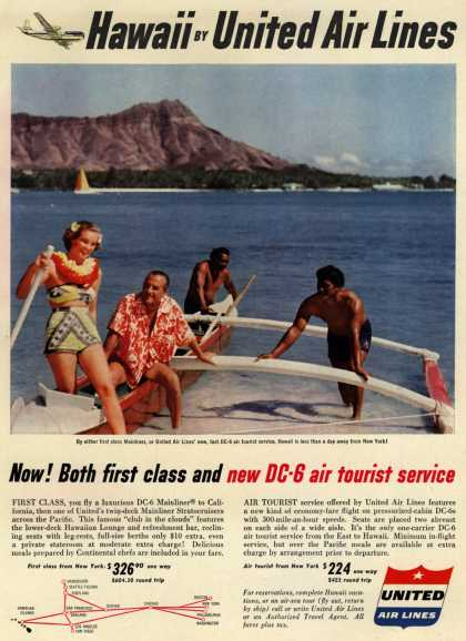 United Air Line's Hawaii – Hawaii by United Air Lines (1953)