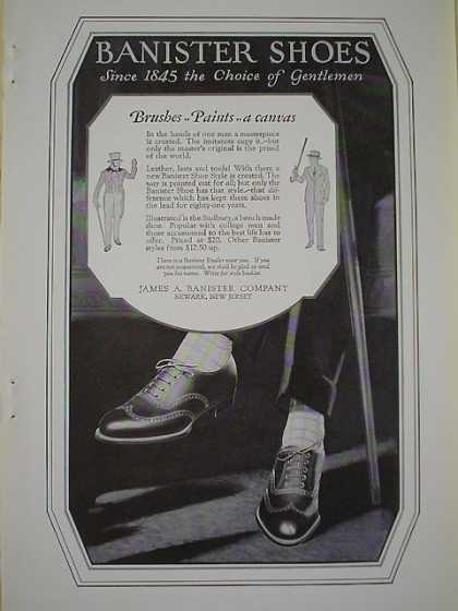 Banister Shoes A canvas AND Prudential Life Insurance critical illness insurance lapse (1926)