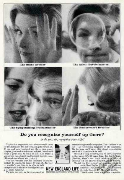 "New England Life ""Do You Recognize Yourself?"" (1962)"