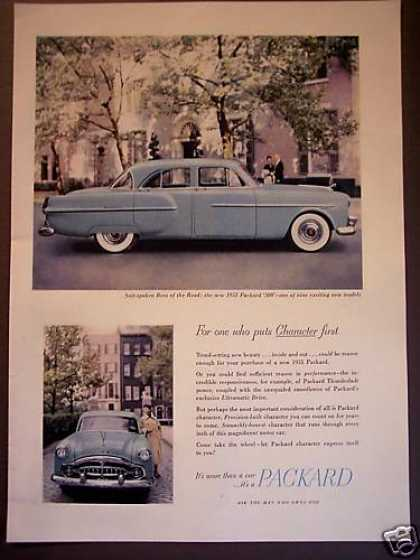 Packard 300 Car Nice Photo (1951)