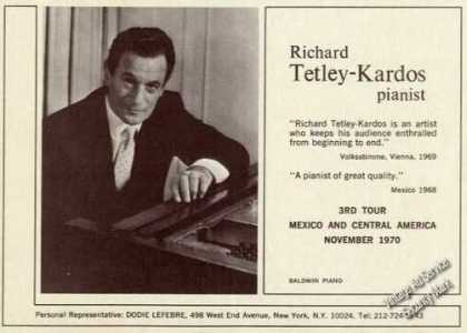 Richard Tetley-kardos Photo Piano (1971)