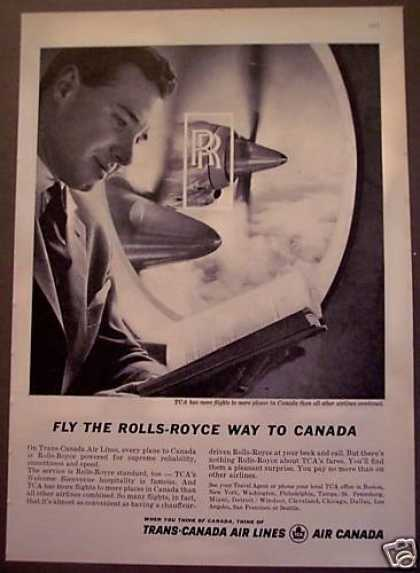 Travel Trans-canada Air Lines (1962)