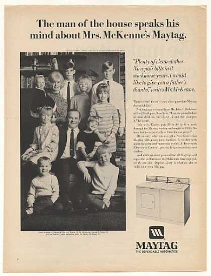 John T McKenne Family East Northport NY Maytag (1968)