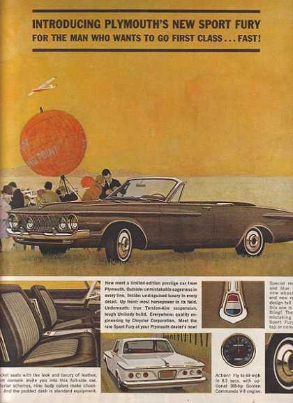 Chrysler's Plymouth (1962)