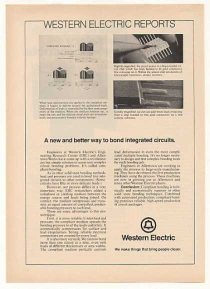 Western Electric Compliant Bonding IC Circuits (1973)