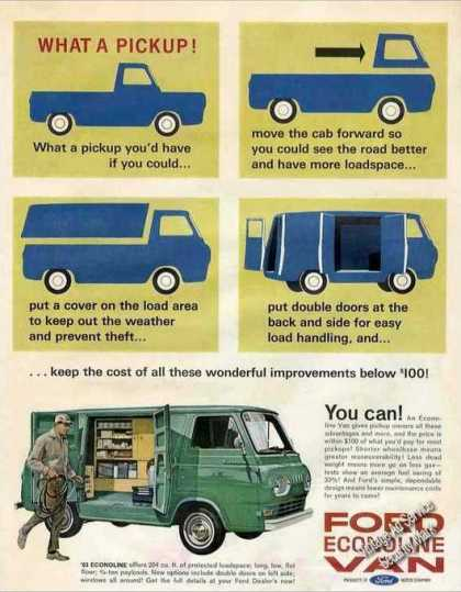 Ford Econoline Van Collectible (1963)