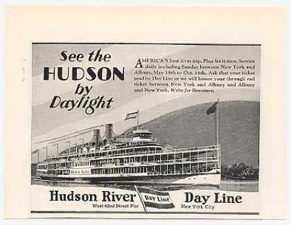Hudson River Day Line Ship (1929)