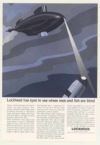 Lockheed Deep Quest Sub Optical Sensor System (1966)