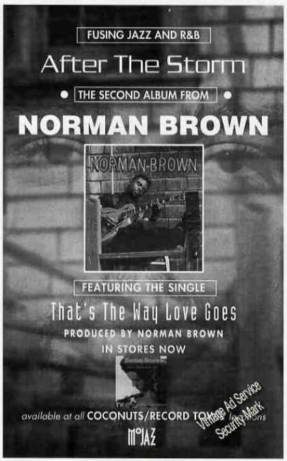 Norman Brown Album Promo (1994)