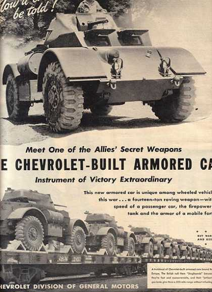 Chevrolet's Armored Car (1944)