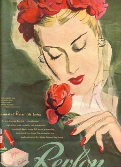 "Revlon's ""A Tournament of Roses this Spring"" (1944)"