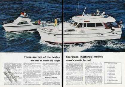 Hatteras 28' & 50' Photo Fiberglass Boats (1967)