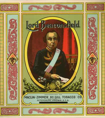 Maclin-Zimmer-McGill's Lord Beaconsfield – Lord Beaconsfield