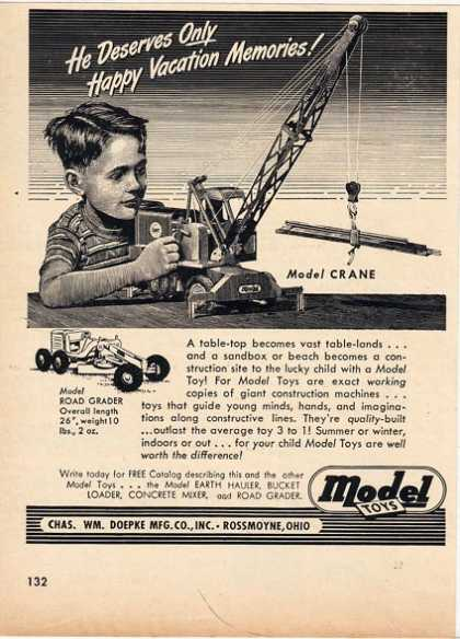Model&#8217;s Crane (1949)