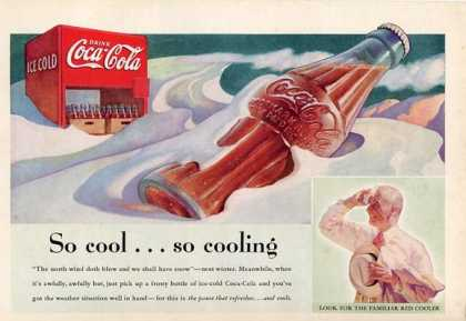 Coke Bottle Cap Cooler Machine T (1937)