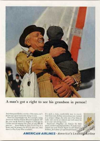 """A Man's Got a Right"" American Airline Grandson (1960)"