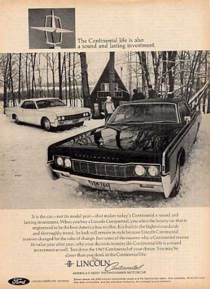 Lincoln Continental Car (1967)