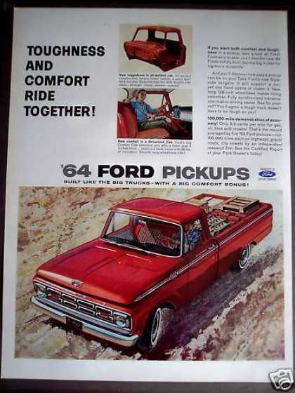 'new' Ford Pickup Truck for '64 (1963)