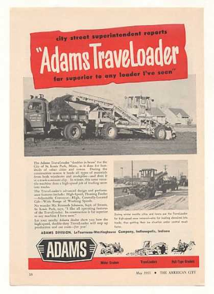 St Louis Park MN Adams TraveLoader Loader (1955)