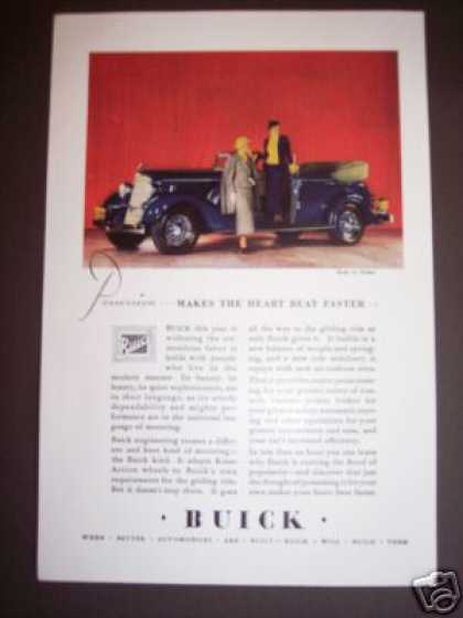 Buick Automobile Color Car (1934)