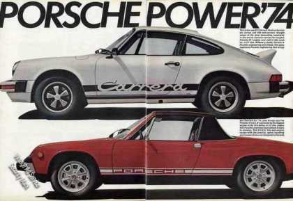 Porsche 911 Carrera & 914 2.0 Large Photos (1974)