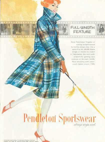 Pendleton Wool Sportswear Fashion (1959)