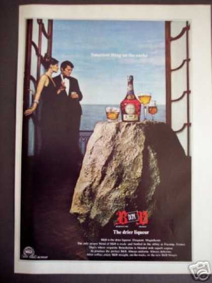 Benedictine B&b Brandy Liqueur On the Rocks (1971)