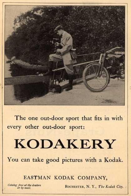 Kodak – The one out-door sport that fits in with every other out-door sport: Kodakery (1912)