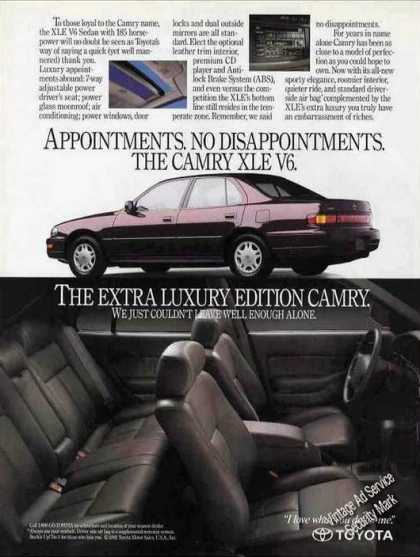 "Toyota Camry Xle V6 ""No Disappointments (1992)"