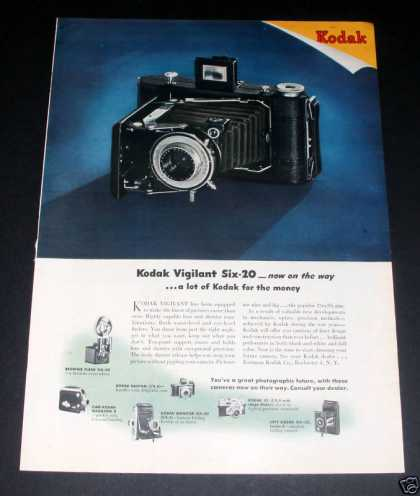 Kodak Vigilant Six Camera (1946)