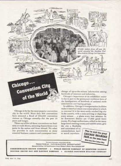 Chicago Railroad Fair – Convention City of the World (1948)