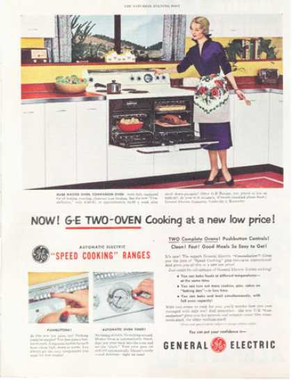 Ge General Electric Kitchen Oven Range (1952)